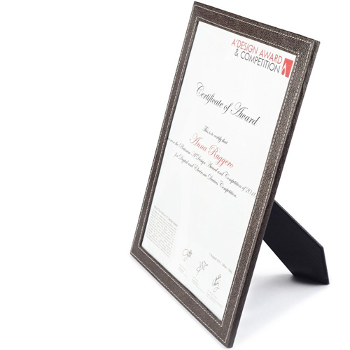 ecoleather A3 Certificate Frame